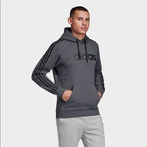 Men's Adidas Charcoal Gray sweatshirt Hoodie
